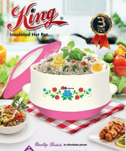 King Insulated Hot Pot